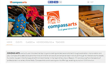 Compass Arts website
