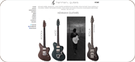 Henman Guitars website