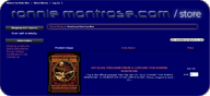 Ronnie Montrose Store website
