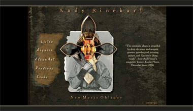 Andy Rinehart music website
