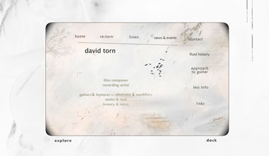 David Torn website